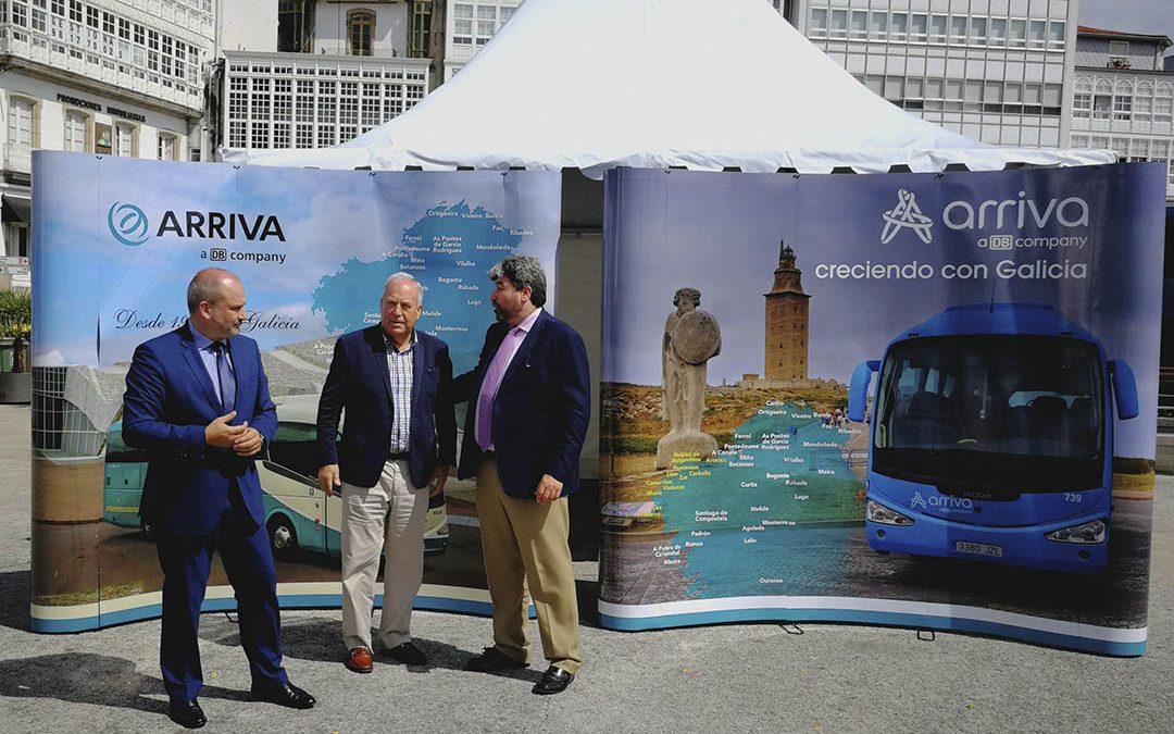 Arriva, nueva imagen de marca para Galicia