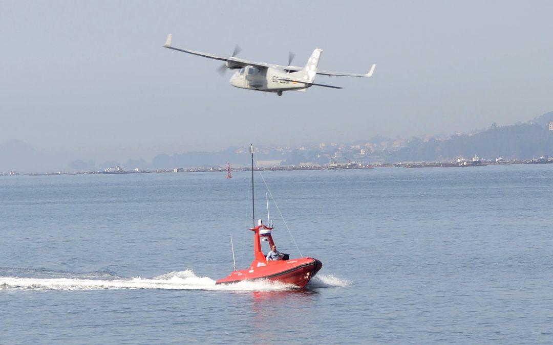 Indra presenta en Vigo su vehículo marino inteligente