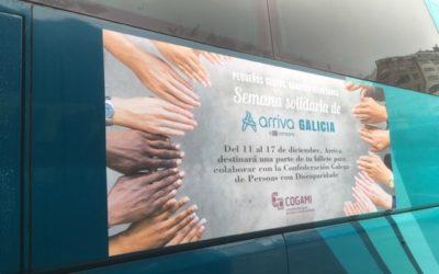 Semana solidaria de Arriva Galicia