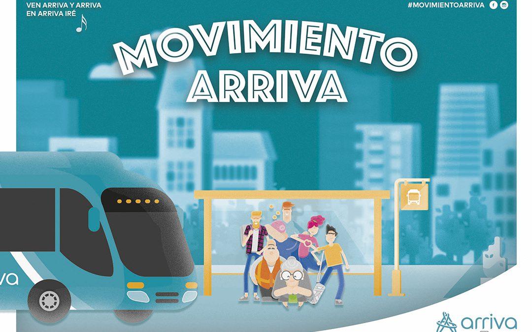Arriva resalta sus valores con la campaña #MovimientoArriva