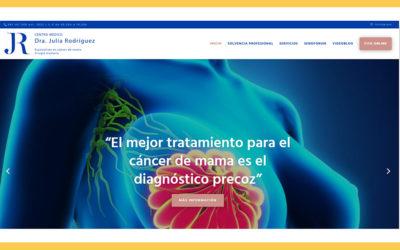 Nueva web de la Dra. Julia Rodríguez